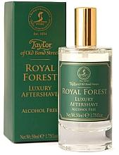 Düfte, Parfümerie und Kosmetik Taylor of Old Bond Street Royal Forest Aftershave Lotion - Luxuriöse After Shave Lotion