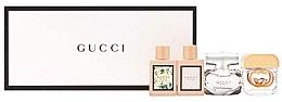 Düfte, Parfümerie und Kosmetik Gucci Miniatures Set - Duftset (Eau de Parfum Mini 2x5ml + Eau de Toilette Mini 2x5ml)