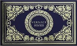 Düfte, Parfümerie und Kosmetik Versace Dylan Blue Pour Homme - Duftset (Kosmetiktasche + Eau de Toilette 100ml + Eau de Toilette 10ml)