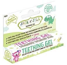 Düfte, Parfümerie und Kosmetik Schmerzlinderndes Kinderzahngel mit Kamille, Ringelblume und Vanillegeschmack 4+ Monate - Jack N' Jill Natural Teething Gel