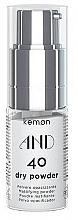 Düfte, Parfümerie und Kosmetik Haarpuder für mehr Volumen - Kemon And Dry Powder 40