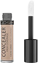 Düfte, Parfümerie und Kosmetik Stark deckender Concealer - Gosh Concealer High Coverage