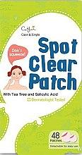 Düfte, Parfümerie und Kosmetik Mini-Gesichtspatches für problematische Haut mit Teebaum und Salicylsäure - Cettua Spot Clear Patch
