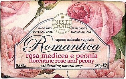 Naturseife Florentine Rose & Peony - Nesti Dante Natural Soap Romantica Collection