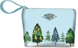 Düfte, Parfümerie und Kosmetik Kosmetiktasche - Institut Karite Paris Christmas Tree Small Pouchh