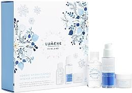 Düfte, Parfümerie und Kosmetik Gesichtspflegeset - Lumene Nordic Hydra (Gesichtscreme 15ml + Gesichtsöl-Cocktail 30ml + Mizellenwasser 50ml)