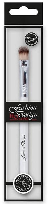 Lidschattenpinsel 37221 - Top Choice Fashion Design White Line — Bild N1