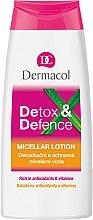 Düfte, Parfümerie und Kosmetik Entgiftendes und schützendes Mizellenwasser - Dermacol Detox&Defence Micellar Lotion
