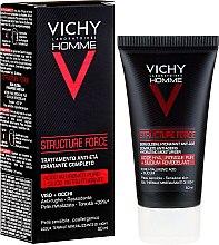 Düfte, Parfümerie und Kosmetik Fechtigkeitsspendende Make-up Base - Vichy Homme Structure Force Complete Anti-ageing Hydrating Moisturiser