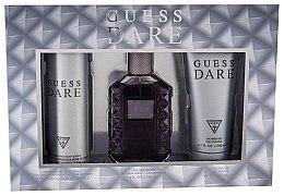 Düfte, Parfümerie und Kosmetik Guess Dare Men - Duftset (Eau de Toilette 100ml + Deospray 226ml + Duschgel 200ml)