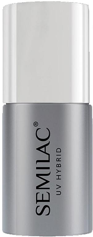 Top für UV Nagellacke - Semilac Top No Wipe Sparkle Diamond