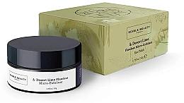 Düfte, Parfümerie und Kosmetik Aufweichendes Gesichtspeeling - Edible Beauty Desert Lime Flawless Micro Exfoliant