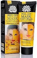 Düfte, Parfümerie und Kosmetik Peel-Off-Maske gegen Falten mit Kollagen und Goldpartikeln - Peel Off Mask Gold Collagen