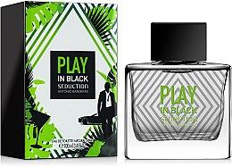 Düfte, Parfümerie und Kosmetik Antonio Banderas Play in Black Seduction - Eau de Toilette