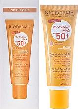 Düfte, Parfümerie und Kosmetik Getöntes Sonnenschutzfluid für das Gesicht SPF 50+ - Bioderma Photoderm Max Spf 50+ Ultra-Fluide Teinte