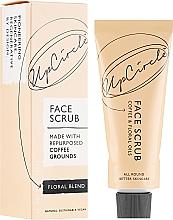Düfte, Parfümerie und Kosmetik Kaffee-Körperpeeling mit Blumenölen - UpCircle Coffee Face Scrub Floral Blend