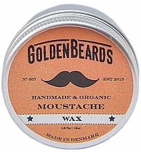 Düfte, Parfümerie und Kosmetik Schnurrbartwachs - Golden Beards Moustache Wax