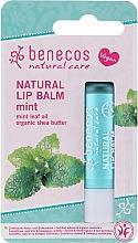 Düfte, Parfümerie und Kosmetik Natürlicher Lippenbalsam Pfefferminze - Benecos Natural Care Lip Balm Mint