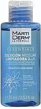 Düfte, Parfümerie und Kosmetik Mizellenwasser für alle Hauttypen mit Edelweiß - MartiDerm Essentials Micellar Solution Cleanser 3in1