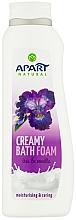 Düfte, Parfümerie und Kosmetik Cremiger Badeschaum mit Iris und Vanille - Apart Natural Body Care Bath Foam