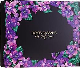 Düfte, Parfümerie und Kosmetik Dolce&Gabbana The Only One - Duftset (Eau de Parfum 50ml + Eau de Parfum 10ml)