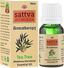 Düfte, Parfümerie und Kosmetik Ätherisches Teebaumöl - Sattva Ayurveda Tea Tree Essential Oil