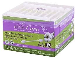 Düfte, Parfümerie und Kosmetik Wattestäbchen für Babys 56 St. - Silver Care Coton