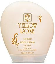Düfte, Parfümerie und Kosmetik Krem do ciała z imbirem  - Yellow Rose Ginger Body Cream