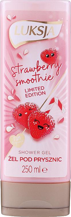 Duschgel Strawberry Smoothie - Luksja Coconut Strawberry Smoothie Shower Gel
