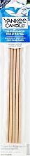 Düfte, Parfümerie und Kosmetik Vorbeduftete Holzstäbchen Midnight Jasmine für Deko-Halter - Yankee Candle Midnight Jasmine Pre-Fragranced Reed Refill