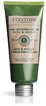Düfte, Parfümerie und Kosmetik Conditioner für feines und zerbrechliches Haar mit Soforteffekt - L'Occitane Aromachologie Body & Strength 1-Minute Intensive Care