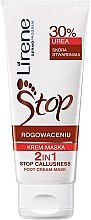Regenerierende Creme-Maske für die Füße mit 30% Hornstoff - Lirene Stop Callusness Foot Cream-Mask — Bild N2