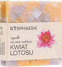 Düfte, Parfümerie und Kosmetik Handgemachte Naturseife mit Lotusblütenduft - Bosphaera