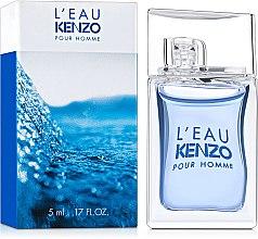 Düfte, Parfümerie und Kosmetik Kenzo L'Eau par Kenzo Pour Homme - Eau de Toilette (Mini)