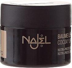 Düfte, Parfümerie und Kosmetik Nährender und schützender Lippenbalsam mit Kokosnussöl - Najel Cocoa Lip Balm