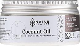 Düfte, Parfümerie und Kosmetik 100% Unraffiniertes Kokosnussöl - Natur Planet Coconut Oil