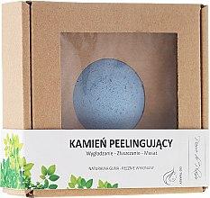 Düfte, Parfümerie und Kosmetik Peelingstein aus natürlicher blauen Tonerde für das Gesicht - Pierre de Plaisir Natural Scrubbing Stone Face