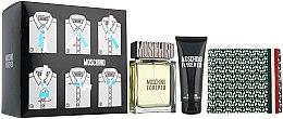 Düfte, Parfümerie und Kosmetik Moschino Forever - Duftset (Eau de Toilette 100ml + Duschgel 100ml + Kosmetiktasche)