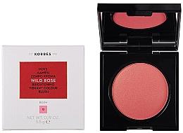 Düfte, Parfümerie und Kosmetik Gesichtsrouge mit Wildrosenöl und Vitamin C - Korres Wild Rose Brightening Vibrant Colour Blush
