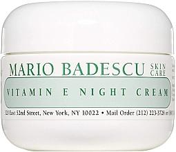 Düfte, Parfümerie und Kosmetik Nachtcreme mit Vitamin E - Mario Badescu Vitamin E Night Cream