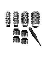 Düfte, Parfümerie und Kosmetik Haarbürsten-Set - Lussoni Waves To Go (Bürsten 4 St. + Haarspangen 4 St.)