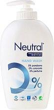 Düfte, Parfümerie und Kosmetik Flüssigseife für empfindliche Haut - Neutral 0% Hand Wash