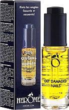 Düfte, Parfümerie und Kosmetik Pflegendes Öl für geschädigte Nägel - Herome Exit Damaged Nails