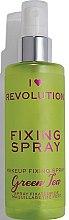 Düfte, Parfümerie und Kosmetik Make-up-Fixierer - Makeup Revolution Fixing Spray Green Tea