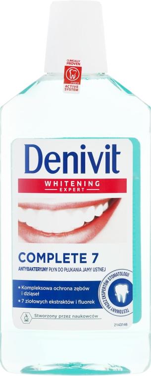 Antibakterielles Mundwasser - Denivit Whitening Expert Complete 7 Mouthwash