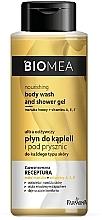 Düfte, Parfümerie und Kosmetik Intensiv pflegendes Bade- und Duschgel für alle Hauttypen - Farmona Biomea Nourishing Body Wash And Shower Gel