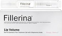 Düfte, Parfümerie und Kosmetik Gel Roll-on mit Hyaluronsäure für volle Lippen Klasse 2 - Fillerina Lip Volume Grade 2