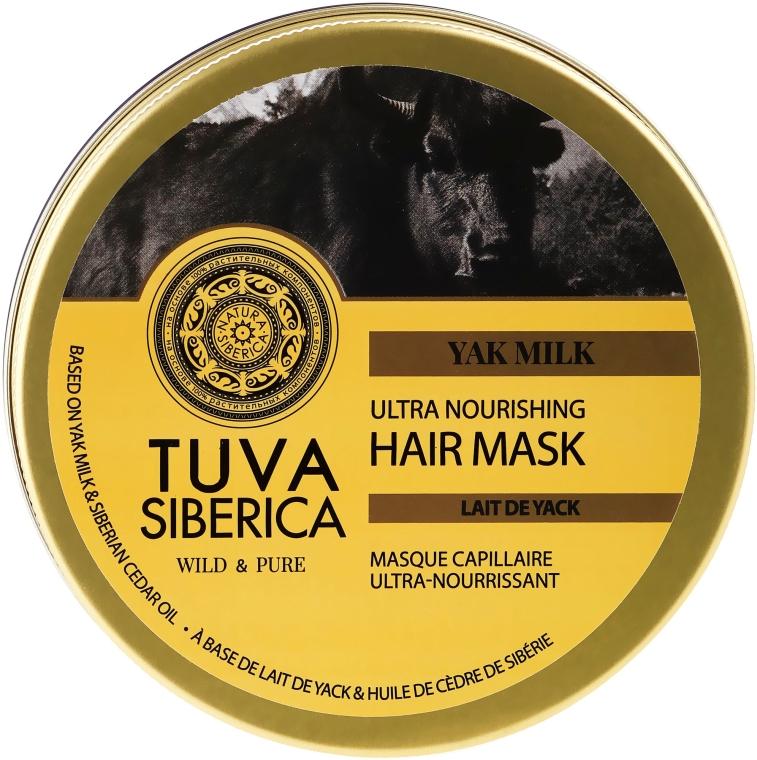 Pflegende Haarmaske - Natura Siberica Tuva Siberica Yak Milk Ultra Nourishing Hair Mask