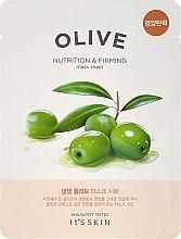 Düfte, Parfümerie und Kosmetik Pflegende und straffende Tuchmaske mit Olive - It's Skin The Fresh Olive Mask Sheet