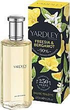 Düfte, Parfümerie und Kosmetik Yardley Freesia & Bergamot - Eau de Toilette